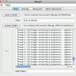 screenshot of MangAI running